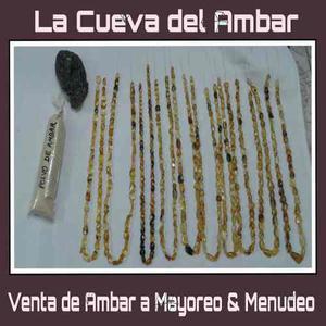 Collar Natural De Ambar De Simojovel, Chiapas.