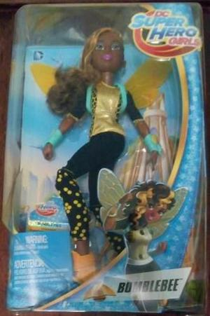 Dc Super Hero Girls Bumblebee Muñeca Mattel Mide 30 Cms