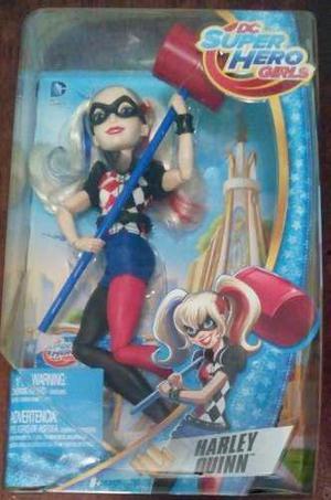 Dc Super Hero Girls Harley Quinn Muñeca Mattel Mide 30 Cms
