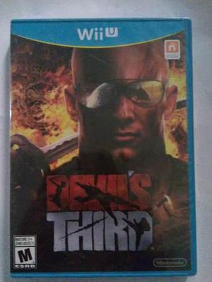 Devils Third Wii U Nuevo Y Sellado Nintendo Trqs Devil's