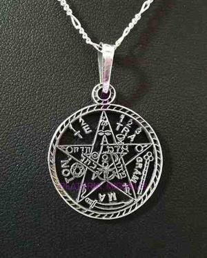 Dije De Tetragramaton En Plata Ley 0.925