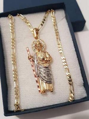 Dije San Judas Tadeo De 4.5 Cm Con Cristales Y Envio Gratis