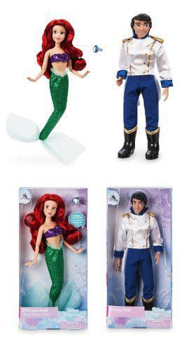 Disney Store - Erick & Ariel La Sirenita The Mermaid 2018