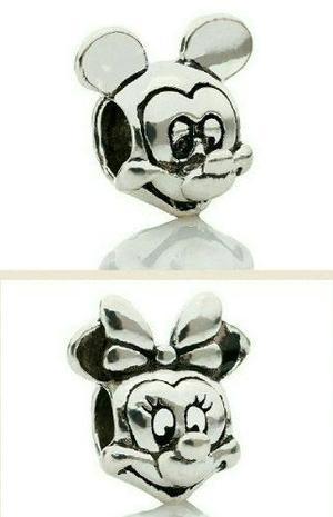 Dúo Charms Dijes Mickey & Minnie Disney Quedan Con Pandora
