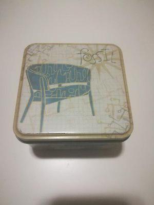Estuche / Caja Metalica Reloj Fossil 2