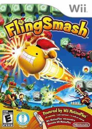 Flingsmash Wii Juego Seminuevo