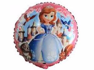 Goblo Princesita Sofia 45 Cm Diametro Kit De 12 Disney Fiest