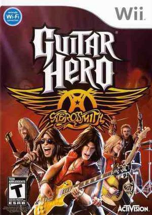 Guitar Hero Aerosmith (juego Solamente) Wii Nuevo Citygame