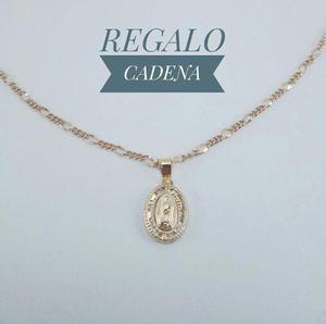 Hermosa Medalla Virgen De Guadalupe Bautizo Oro Sólido 10k
