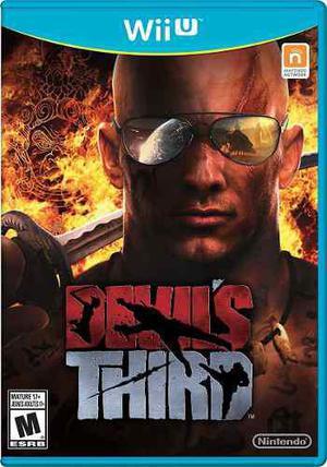Juego Devils Third Para Nintendo Wii U - Nuevo Y Sellado