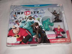 Juego Disney Infinity Starter Pack Wii U Nuevo