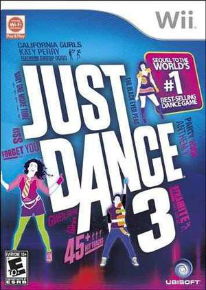 Juego Just Dance 3 Wii Nuevo Blakhelmet E