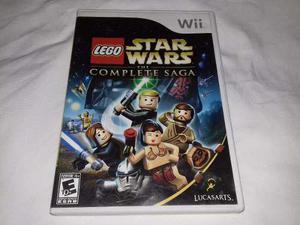 Juego Lego Star Wars The Complete Saga Nintendo Wii O Wii U