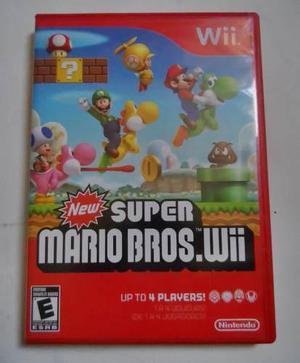 Juego New Super Mario Bros Wii Nintendo Wii
