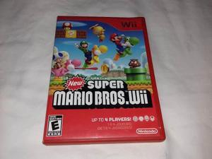 Juego New Super Mario Bros Wii Nintendo Wii O Wii U