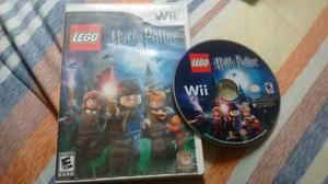 Juego Para Wii Harry Potter Years 1-4 Semi Nuevo