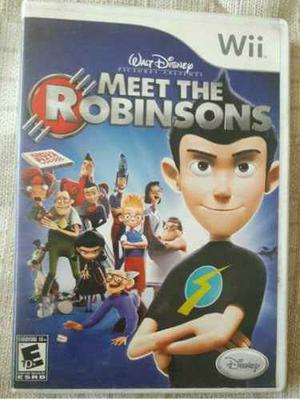 Juego Para Wii Meet The Robinsons Seminuevo Funcional