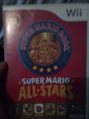 Juego Para Wii Super Mario All Stars Original