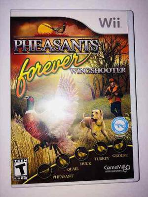 Juego Pheasant Forever Wingshooter Para Wii (juego De Caza)