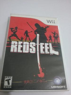 Juego Redsteel Para Wii