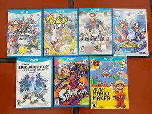 Juegos Para Nintendo Wii U Diversos Titulos Y Precios