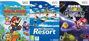 Juegos Para Nintendo Wii _varios