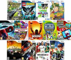 Juegos Para Nintendo Wii.-varios