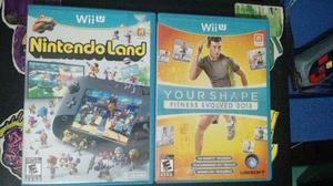 Juegos Wii U Fitness Evolved 2013 Y Nintendo Land