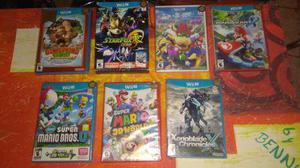 Juegos Wii U(mario Kart,donkey Kong,star Fox)