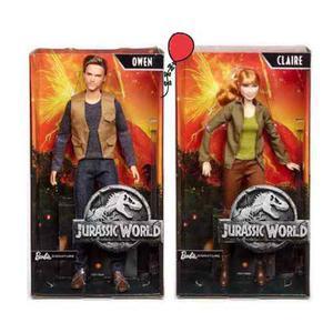 Jurassic World Barbie Claire Y Owen
