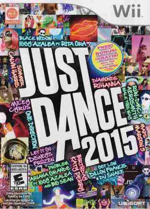 Just Dance 2015 Wii Juego Nuevo En Karzov