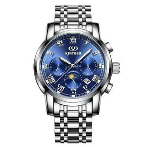 Kinyued Negocios Reloj 3atm Resistente Al Agua Mecánico