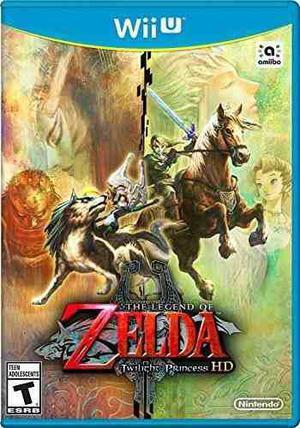 La Leyenda De Zelda: Twilight Princess Hd - Wii U (partido