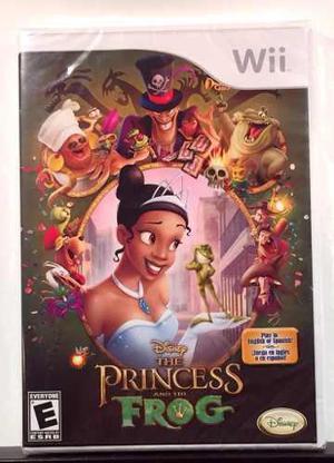 La Princesa Y El Sapo Disney Videojuego Oficial Nintendo Wii