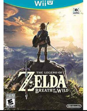 Legend Of Zelda Breath Of The Wild Wii U D3 Gamers