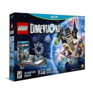 Lego Dimensions 269 Pzas + Juego Para Wii U - Nuevo Sellado