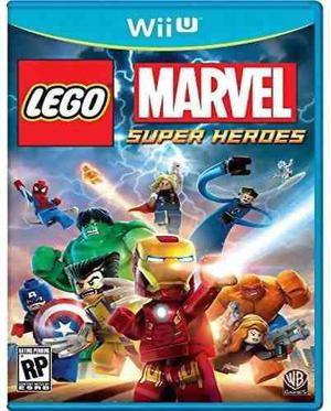 Lego Marvel Super Heroes Nintendo Wii U Nuevo Sellado Juego