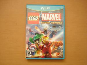 Lego Marvel Super Heroes Para Wii U - Rtg +++++
