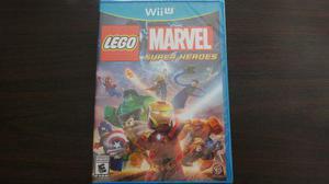 Lego Marvel Super Heroes Wii U Nuevo Sellado