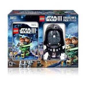 Lego Star Wars Iii El Juego Clon Wars (wii) Con Darth Vader