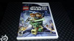 Lego Star Wars Iii The Clone Wars Wii Completo Con Garantia