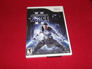 Longaniza Games * Wii Star Wars The Force Unleashed 2****