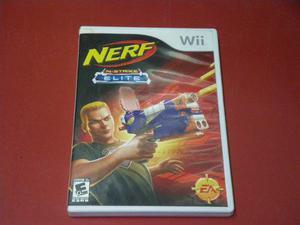 Longaniza Games * Wii / Wii U Nerf N'strike Elite