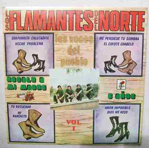 Los Flamantes Del Norte. Las Voces Del Pueblo. Disco Lp