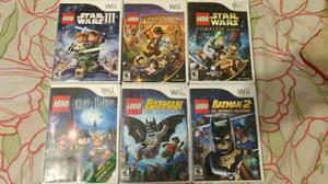 Lote De Juegos De Lego Para Wii
