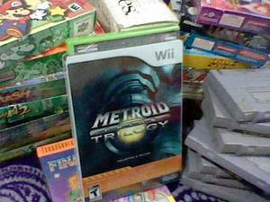 Metroid Prime Trilogy Wii Caja E Instructivo Nuevo Sellado
