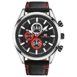 Mini Focus Moda Luminoso Quartz Hombres Casual Reloj De Puls