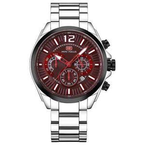 Mini Focus Reloj Deporte Acero Inoxidable Para Hombres Moda