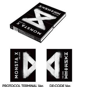 Monsta X The Code: Version The Code O Protocol Terminal Kpop