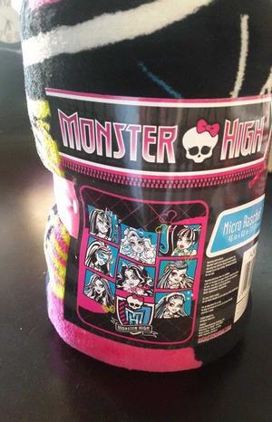 Monster High Cobija ligera (micro raschel throw) de
